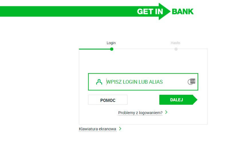 Getin Bank Logowanie